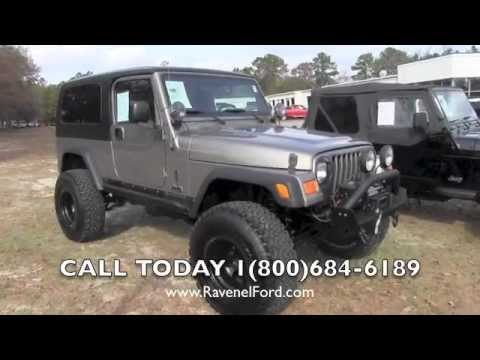 2006 JEEP WRANGLER TJ UNLIMITED 4X4 Review Charleston Car Videos For Sale Ravenel Ford
