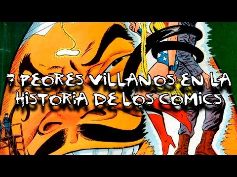 TOP: LOS 7 PEORES VILLANOS DE LOS COMICS   DrossRotzank