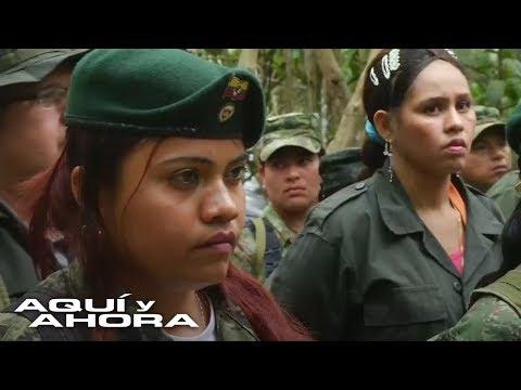 ¿Qué piensan las mujeres de la guerrilla sobre acuerdos de paz en Colombia?