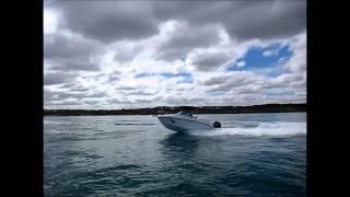 Atomix 560 WA Boat High Speed Performance Turn 150Hp Mercury 4 Stroke