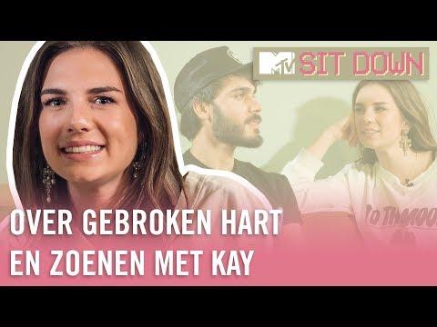 Maan over haar GEBROKEN HART en ZOENEN met Kay | MTV Sit Down