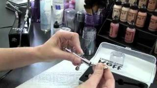 Kett Cosmetics Airbrush Maintenance and Cleaning Techniques by Sheila McKenna
