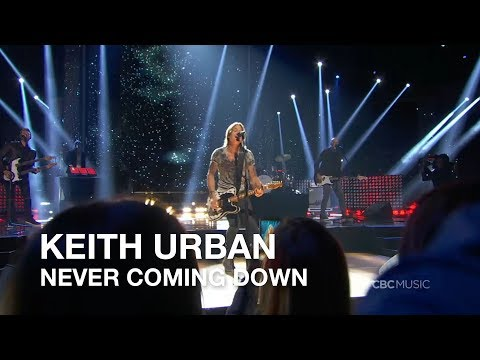 Keith Urban | Never Coming Down | 2018 CCMA Awards