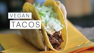 Vegetarian Recipe: Tacos (vegan) | Edgy Veg