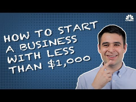 How To Get A Business Off The Ground With Less Than $1,000 | The Hustle