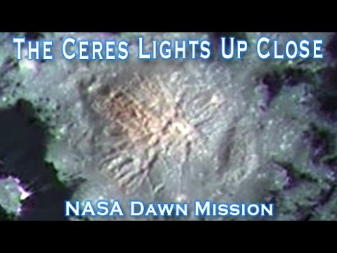 The Ceres Lights Occator Crater Up Close And Beautiful