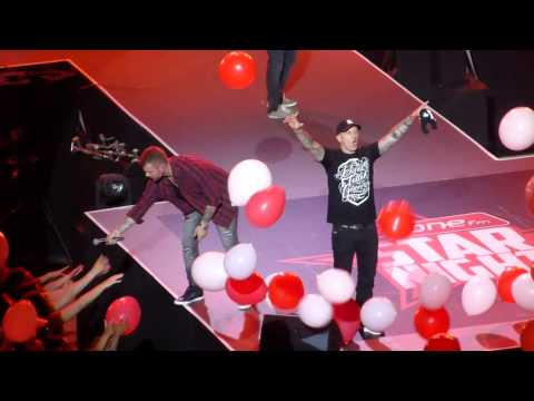 Holidays, Remady et Manu-L @ OSN15 - Arena de Genève, 22.05.2015