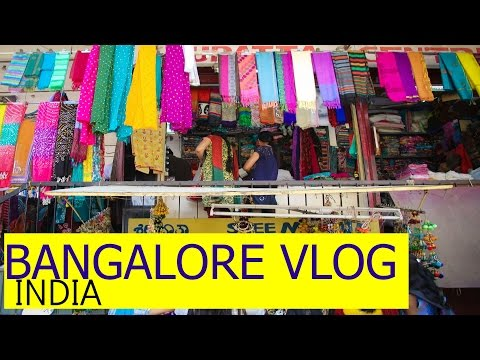Commercial street Bangalore Shopping hub Shopping in India with SuperPrincessjo