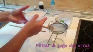 Mascarilla regeneradora y antimanchas de arroz