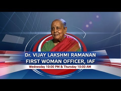 Promo - To The Point : Dr. Vijay Lakshmi Ramanan, 1st Woman officer of IAF | Wed - 10 pm