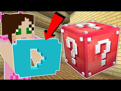 Minecraft: YOUTUBE LUCKY BLOCK!!! (YOUTUBERS, PLAY BUTTON, & MORE!) Mod Showcase thumbnail