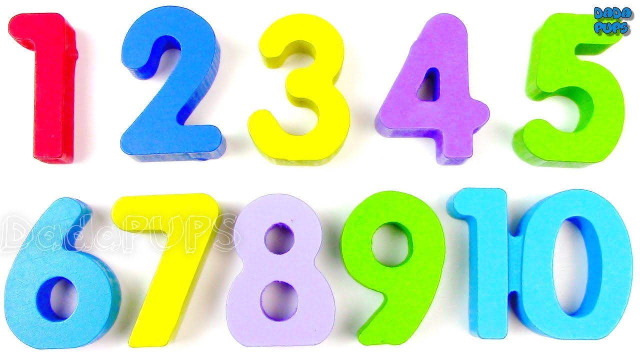 Learn 1 To 10 Numbers For Kids