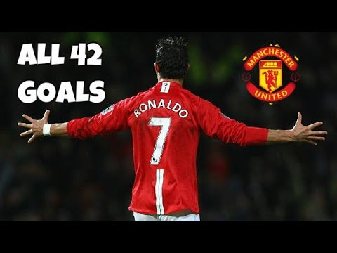 Download Cristiano Ronaldo All 42 Goals in 2007/08 for Manchester united I HD