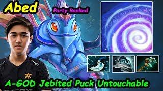 Abed - [Puck] MIDLANE Untouchable Jebited Build A-GOD 10K MMR  Dota 2 7.22 pro Gameplay