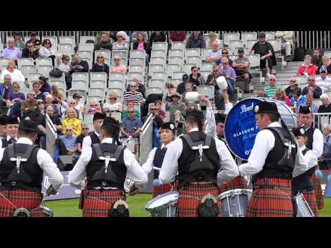 World Pipe band Championships 2017 - Glasgow Police Pipe Band Medley - [4K/UHD]