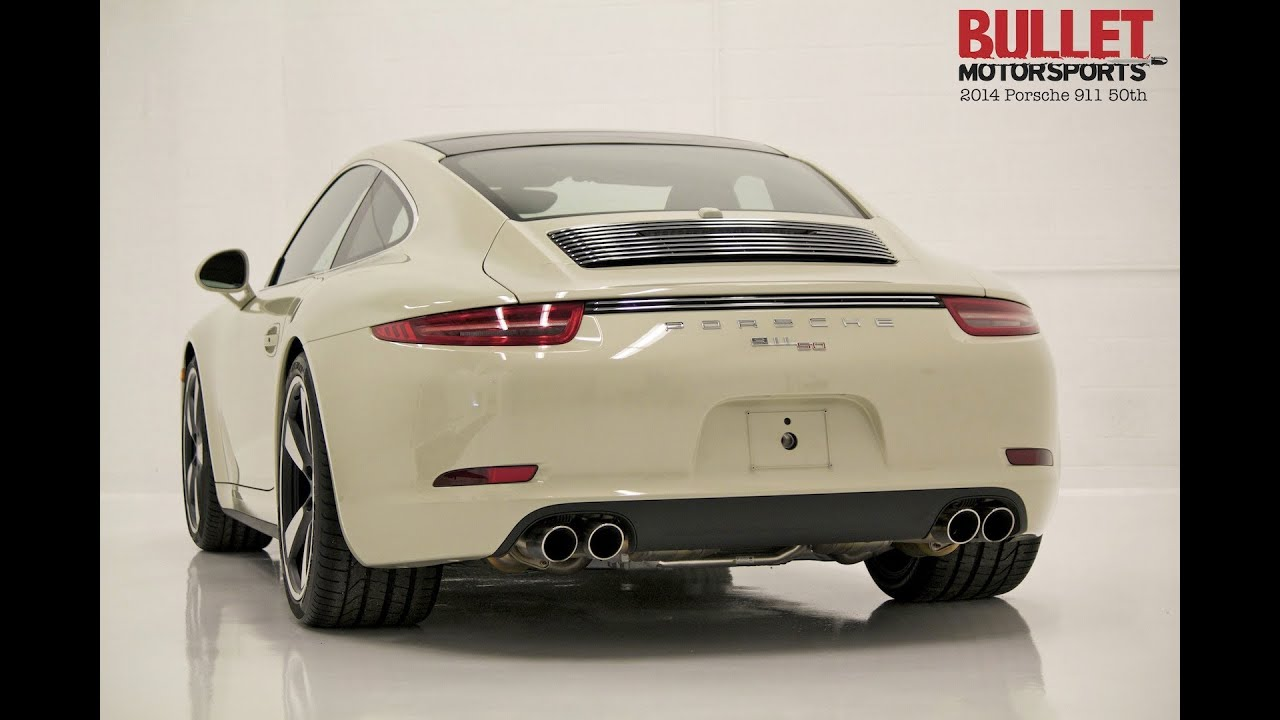 2014 Porsche 911 50th Anniversary Edition Brutal Sounds