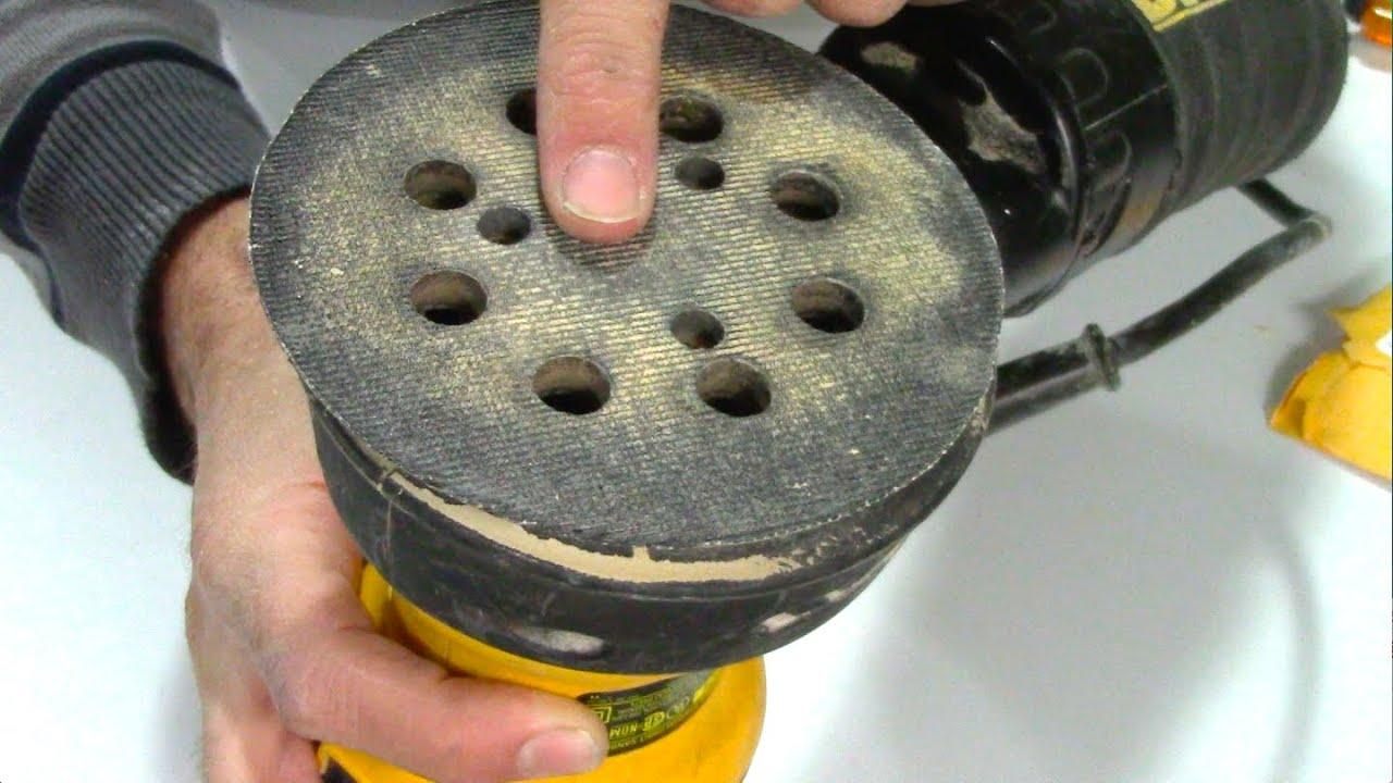 How To Replace A Pad Dewalt Orbital Disc Sander Repair