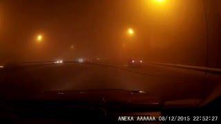 Неожиданный поворот(Туман на Октябрьском мосту г.Красноярск 08.12.15., 2015-12-08T15:22:03.000Z)