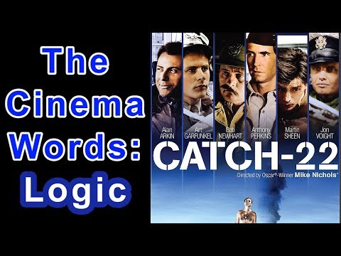 🎬⭕ The Cinema Words: 'Logic' From 'Catch-22' (1970) Mike Nichols (Novel By Joseph Heller 1961) ⭕🎬