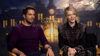 The House With A Clock In Its Walls -  Eli Roth And Cate Blanchett