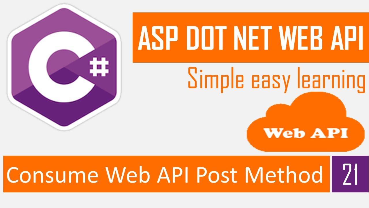 Consume Web API Post method in ASP NET MVC | Calling Web API | Rest API Bangla Tutorial