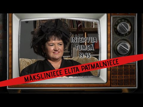 INTERVIJA TUMSĀ / MĀKSLINIECE ELITA PATMALNIECE / 03.06.2020 19.45