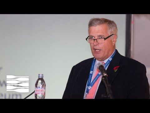 Leander Club President, Jeremy Randall, at Backsplash: The Rowing History Conference 2017