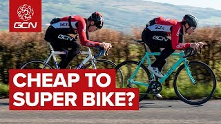 Did We Turn A Cheap Bike Into A Super Bike? | GCN