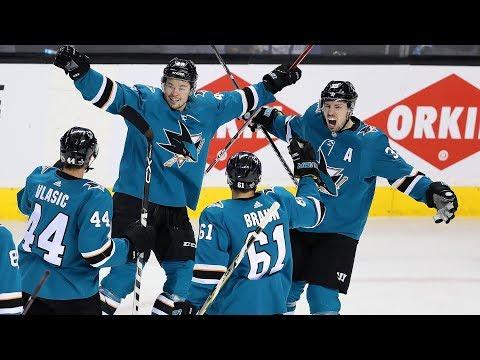 Sharks' Peter DeBoer on win versus Ducks and Martin Jones' performance
