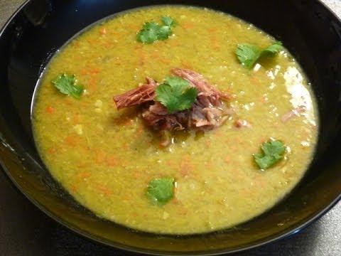 Slow Cooker Split Pea And Ham Soup Recipe