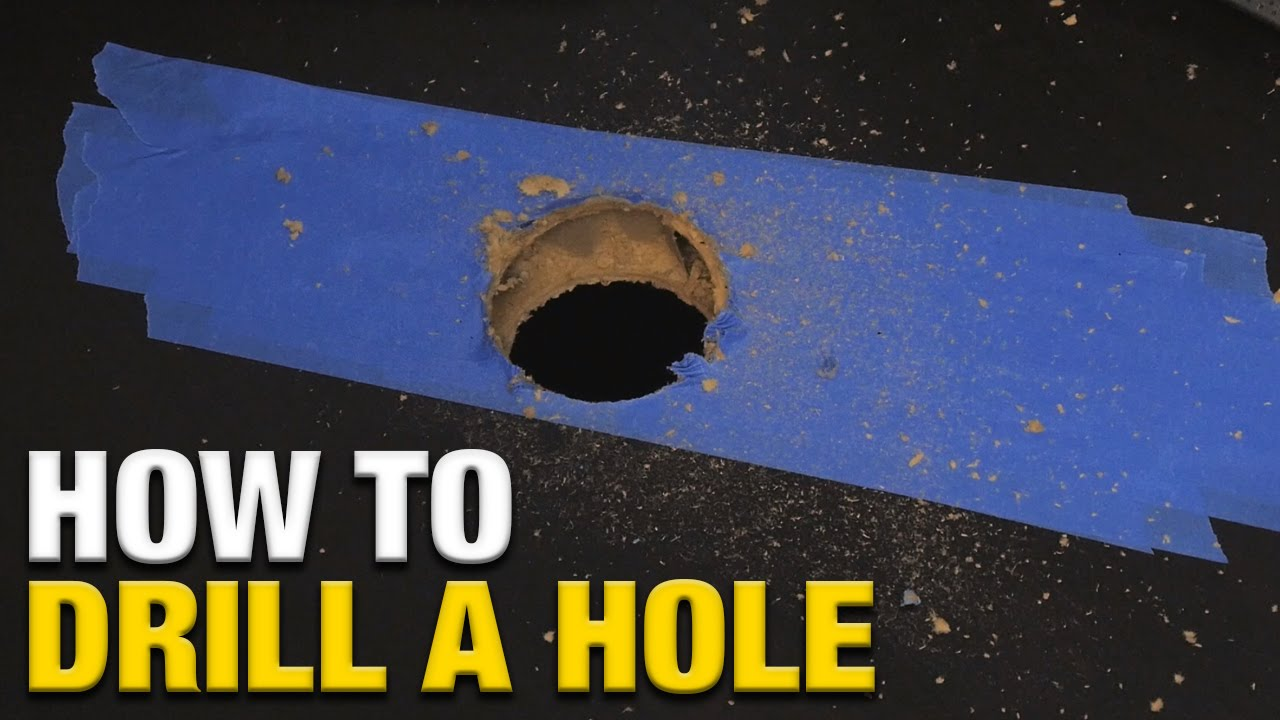 How To Drill A Hole In An Ikea Linnmon Desk
