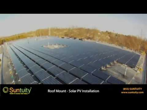 Suntuity® Roof Mount Commercial Solar PV Installation