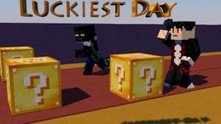 Luckiest Day #1| לאקי בלוק צ'אלנג' ד