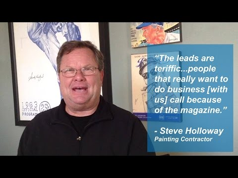 Steve Holloway - Bakersfield Home Magazine Review