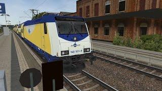 Lets Play Open Rails mit dem Metronom nach Göttingen