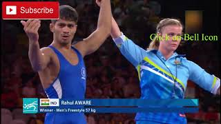 rahul aware in commonwealth game
