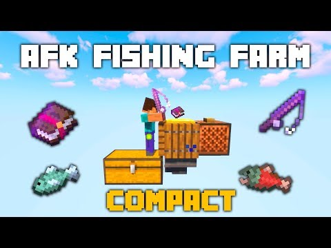 Simple AFK Fishing Farm - Server Friendly (1.13)