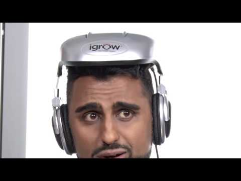 Andy tries the iGrow Hair System | GetConnected