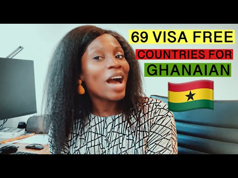 VISA FREE COUNTRIES FOR GHANA 2019 | Countries Ghanaians Can Visit Without Visa