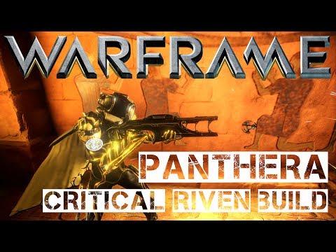 Warframe Panthera Critical Riven Build - The Panthera Chainsaw Massacre