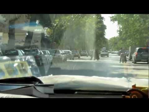 Autofahrt in Maschhad - driving in Mashhad Razavi Khorasan مشهد خراسان رضوی Iran