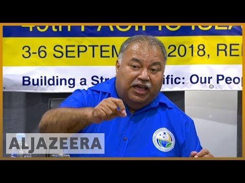 🌏 Pacific island forum overshadowed by Nauru refugee crisis | Al Jazeera English