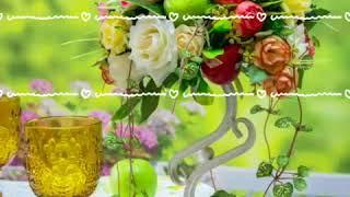 Композиция из искусственных цветов на стол