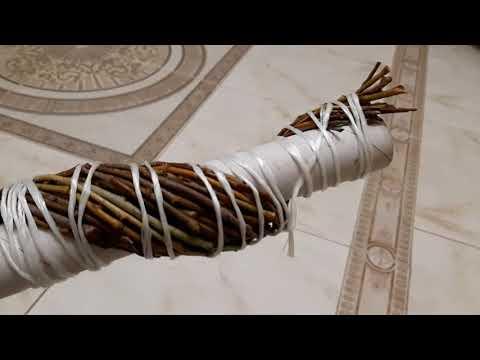 Декор из ивовых прутьев своими руками