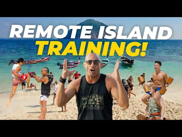 Remote Island Fight Training! | AKA Thailand