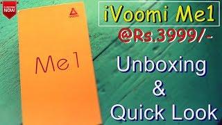 iVOOMi ME1 Handset Unboxing & Quick Look..[HINDI]