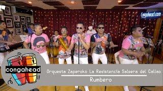 Orquesta Zaperoko La Resistencia Salsera del Callao performs Rumbero
