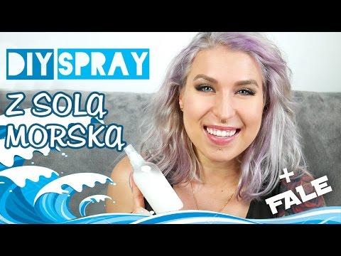 ♦ DIY spray solny + plażowe fale bez ciepła ♦