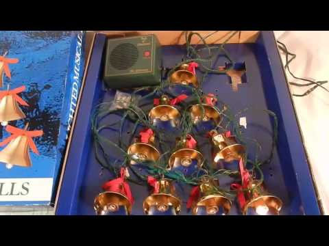 Musical Christmas Tree Bells