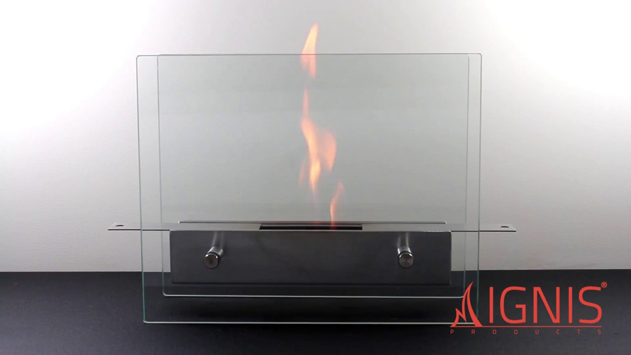 Ignis Tab Tabletop Ventless Ethanol Fireplace Ttf 021 Youtube